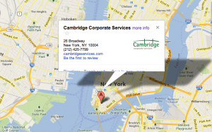 cambridge map location