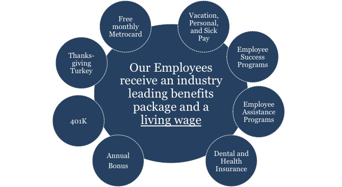 industry leading employee benefits